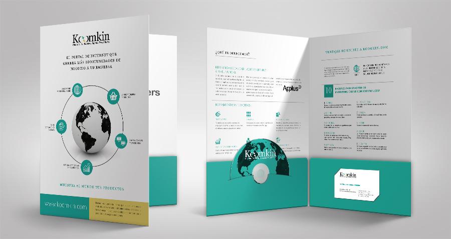 Diseño de folders corporativos