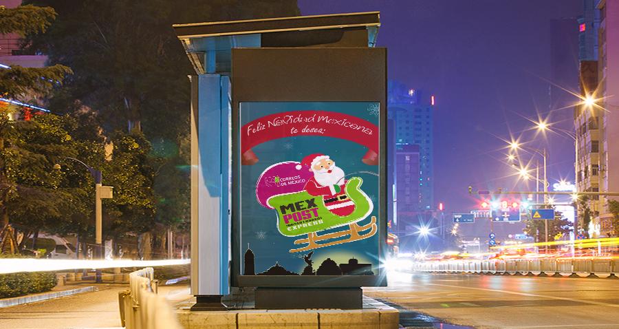 Diseño de publicidad para MEXPOST